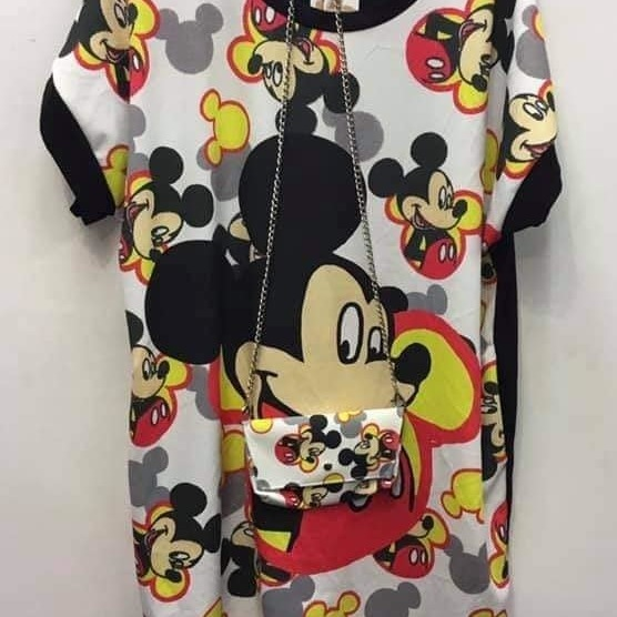 robe tunique mickey
